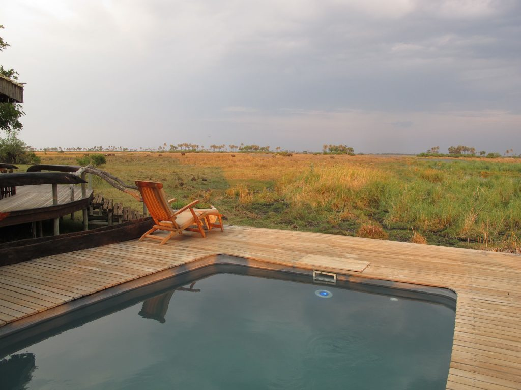 Selinda Camp pool, Great Plains Conservation, Botswana